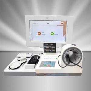 智慧云端健康量测便利站 M1000加强版 增加动脉硬化检测